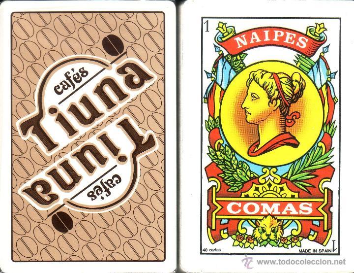 CAFES TIUNA - BARAJA ESPAÑOLA 40 CARTAS (Juguetes y Juegos - Cartas y Naipes - Otras Barajas)