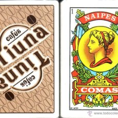Barajas de cartas: CAFES TIUNA - BARAJA ESPAÑOLA 40 CARTAS. Lote 44474865