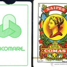 Barajas de cartas: FACOMARE - BARAJA ESPAÑOLA DE 50 CARTAS. Lote 44475451