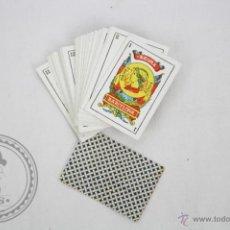 Barajas de cartas: BARAJA DE CARTAS ESPAÑOLA - MINIATURA - HISPANO AMERICANA - JOAN ROURA - COMPLETA 40 NAIPES. Lote 44519265