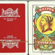 Barajas de cartas: FINISTERRE SEGUROS- BARAJA ESPAÑOLA DE 40 CARTAS. Lote 51666193