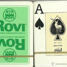 Barajas de cartas: ROVI LABORATORIOS FARMACEUTICOS - BARAJA DE POKER. Lote 168054172