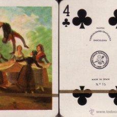 Barajas de cartas: GOYA - EL PELELE - BARAJA DE POKER. Lote 44683311