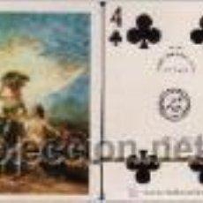 Barajas de cartas: GOYA - LA VENDIMIA - BARAJA DE POKER. Lote 44683335