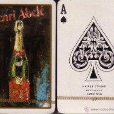 Barajas de cartas: HENRI ABELE CHAMPAGNE - BARAJA DE BRIDGE. Lote 44688113