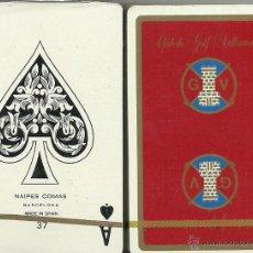 Barajas de cartas: CLUB DE GOLF VALLROMANAS ROJA BARAJA DE BRIDGE. Lote 44688573