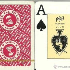 Barajas de cartas: CASINO JACK TAR VILLAGE - BARAJA DE POKER. Lote 44688677