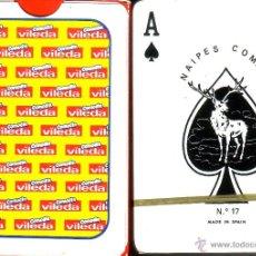 Barajas de cartas: VILEDA - BARAJA POKER. Lote 44700446