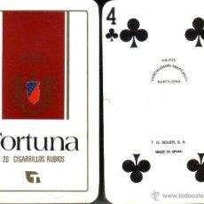Barajas de cartas: FORTUNA - TABACO - BARAJA DE BRIDGE. Lote 44700473