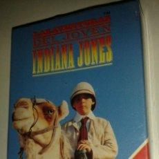 Barajas de cartas: BARAJA FOUNIER. *LAS AVENTURAS DEL JOVEN INDIANA JONES*.AÑO 1992.PRECINTADA. Lote 44706160