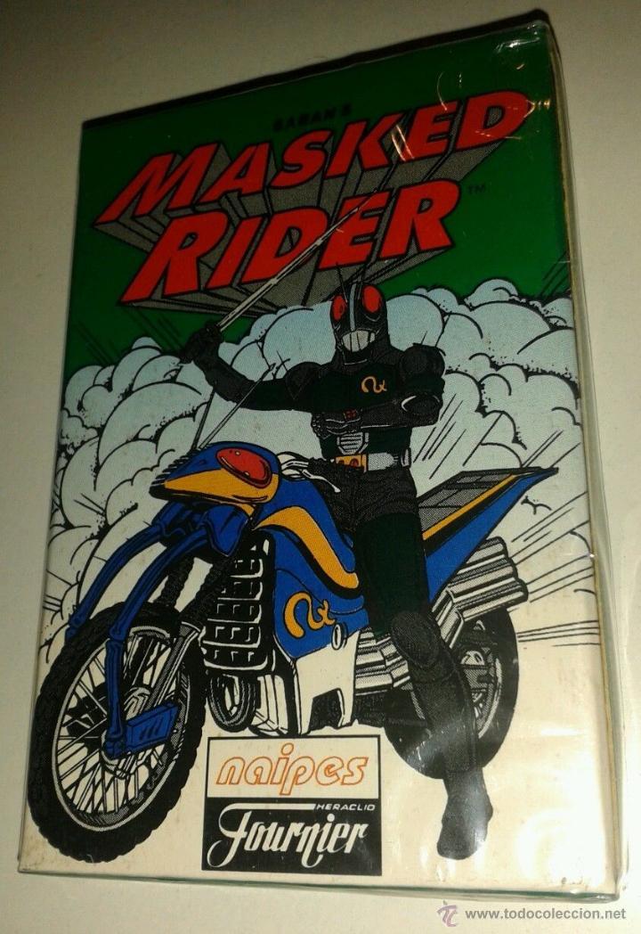 BARAJA FOUNIER. *MASKED RAIDER* AÑO 1996.PRECINTADA (Juguetes y Juegos - Cartas y Naipes - Barajas Infantiles)