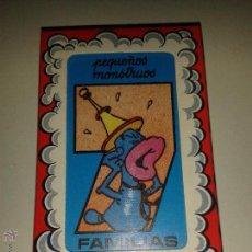 Barajas de cartas: BARAJA MAESTROS NAIPEROS. *7 FAMILIAS PEQUEÑOS MONSTRUOS*.PRECINTADA. Lote 44706399