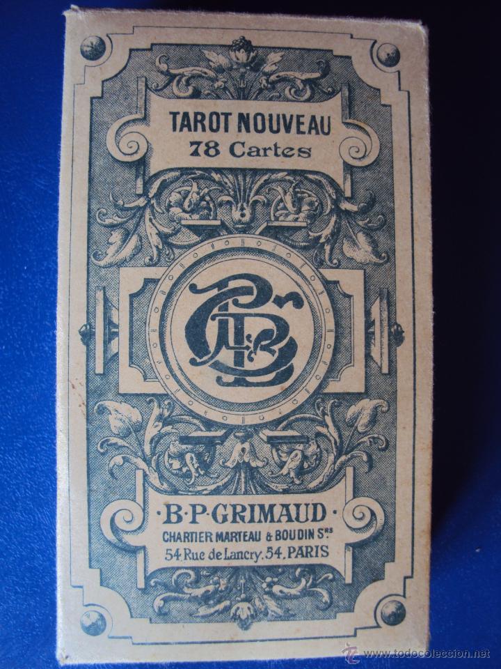 (PA-804)TAROT NOUVEAU GRIMAUD FRANCIA 1890 ADIVINACION OCULTISMO ESOTERISMO BARAJA (Juguetes y Juegos - Cartas y Naipes - Barajas Tarot)
