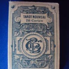 Barajas de cartas: (PA-804)TAROT NOUVEAU GRIMAUD FRANCIA 1890 ADIVINACION OCULTISMO ESOTERISMO BARAJA. Lote 146604414