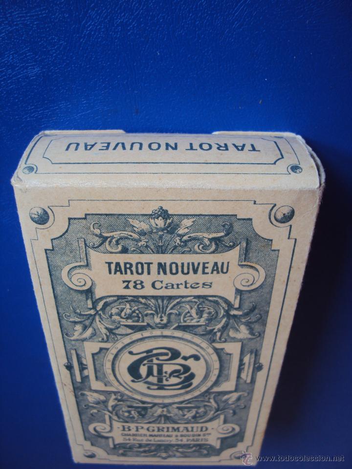 Barajas de cartas: (PA-804)TAROT NOUVEAU GRIMAUD FRANCIA 1890 ADIVINACION OCULTISMO ESOTERISMO BARAJA - Foto 2 - 146604414