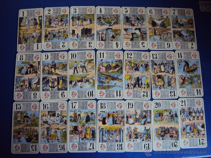 Barajas de cartas: (PA-804)TAROT NOUVEAU GRIMAUD FRANCIA 1890 ADIVINACION OCULTISMO ESOTERISMO BARAJA - Foto 3 - 146604414