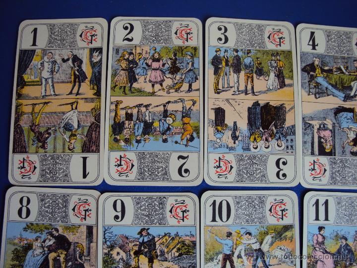 Barajas de cartas: (PA-804)TAROT NOUVEAU GRIMAUD FRANCIA 1890 ADIVINACION OCULTISMO ESOTERISMO BARAJA - Foto 4 - 146604414