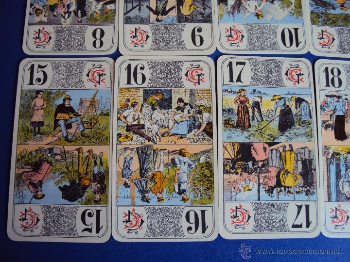 Barajas de cartas: (PA-804)TAROT NOUVEAU GRIMAUD FRANCIA 1890 ADIVINACION OCULTISMO ESOTERISMO BARAJA - Foto 8 - 146604414