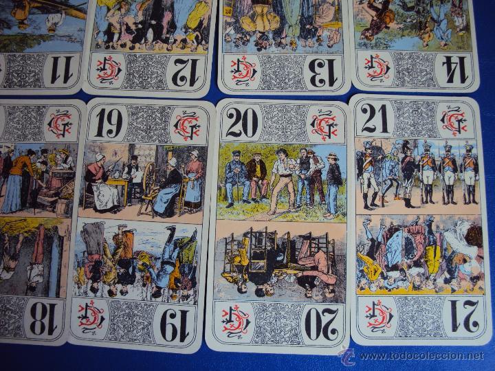 Barajas de cartas: (PA-804)TAROT NOUVEAU GRIMAUD FRANCIA 1890 ADIVINACION OCULTISMO ESOTERISMO BARAJA - Foto 9 - 146604414