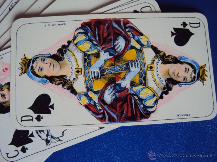Barajas de cartas: (PA-804)TAROT NOUVEAU GRIMAUD FRANCIA 1890 ADIVINACION OCULTISMO ESOTERISMO BARAJA - Foto 11 - 146604414