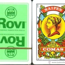 Barajas de cartas: ROVI LABORATORIOS FARMACEUTICOS - BARAJA ESPAÑOLA 50 CARTAS. Lote 191242721