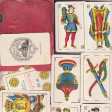 Barajas de cartas: ANTIGUA BARAJA NAIPES CARTAS Nº 32 HERACLIO FOURNIER CLASE OPACA CAJA ORIGINAL. Lote 44741637