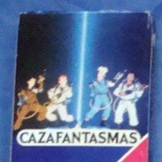 Barajas de cartas: CAZAFANTASMAS FOURNIER JUEGO DE NAIPES CARTAS BARAJA INFANTIL DIBUJOS PRECINTADA. Lote 49024778