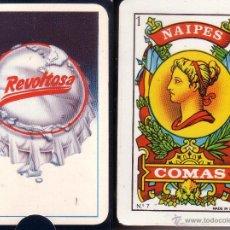 Barajas de cartas: REVOLTOSA GASEOSA - BARAJA ESPAÑOLA 40 CARTAS. Lote 44769415