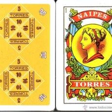 Barajas de cartas: BODEGAS TORRES - BARAJA ESPAÑOLA 50 CARTAS. Lote 44773103