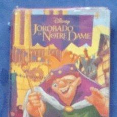 Barajas de cartas: EL JOROBADO DE NOTRE DAME DISNEY FOURNIER JUEGO DE NAIPES CARTAS BARAJA INFANTIL DIBUJOS PRECINTADA. Lote 44783049