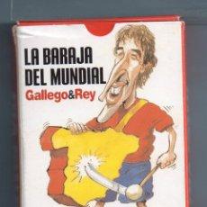 Barajas de cartas: BARAJA DE 40 CARTAS DE PUBLICIDAD GRUPO ZETA 30 ANIVERSARIO Y INTERVIÚ DIBUJAS GALLEGO & REY . Lote 44783322