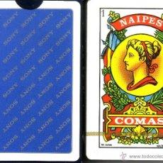 Barajas de cartas: SONY - BARAJA ESPAÑOLA 50 CARTAS. Lote 44796567