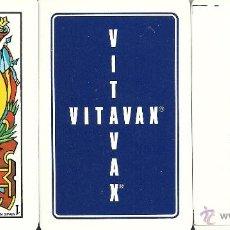 Barajas de cartas: VITAVAX - ESPECIAL COLECCIONISTAS - BARAJA ESPAÑOLA 40 CARTAS. Lote 44822072