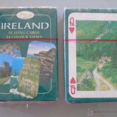 Barajas de cartas: BARAJA DE CARTAS DE PÓKER. TURISMO DE IRLANDA, CADA NAIPE UNA FOTO. PRECINTADA. Lote 44836142