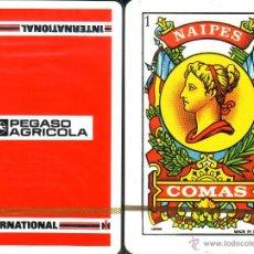 Barajas de cartas: PEGASO AGRICOLA - BARAJA ESPAÑOLA 50 CARTAS. Lote 44870236