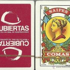 Barajas de cartas: CUBIERTAS - BARAJA ESPAÑOLA 50 CARTAS. Lote 53707903