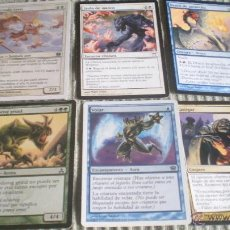 Barajas de cartas: 5 CARTAS MAGIC THE GATHERING DECKMASTER. Lote 44896383