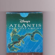Barajas de cartas: CARTAS ATLANTIS DISNEY HERACLIO FOURNIER. Lote 44920656