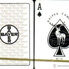 Barajas de cartas: BAYER - BARAJA POKER. Lote 44947454