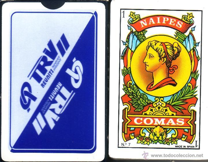 TRV - REUNITS - BARAJA ESPAÑOLA DE 40 CARTAS (Juguetes y Juegos - Cartas y Naipes - Baraja Española)