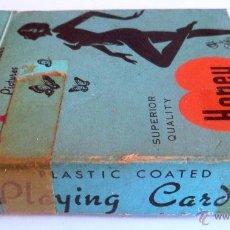 Barajas de cartas: ANTIGUA BARAJA JOKER. 54 MODELS COATED PLAYING CARDS. (COMPLETA). Lote 45024589