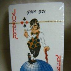 Barajas de cartas: BARAJA DE CARTAS POKER,CON SU PRECINTO DE ORIGEN.. Lote 45080627