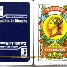 Barajas de cartas: JUNTA DE COMUNIDADES CASTILLA - LA MANCHA - BARAJA ESPAÑOLA 40 CARTAS. Lote 45147023