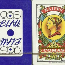 Barajas de cartas: GAS BLAU - BARAJA ESPAÑOLA 50 CARTAS. Lote 45153453