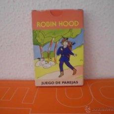 Barajas de cartas: BARAJA DE CARTAS ROBIN HOOD JUEGO DE PAREJAS COMPLETA BARAJAS CARTA. Lote 45167967