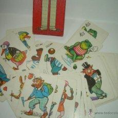 Barajas de cartas: ANTIGUO JUEGO DE CARTAS...DE PAREJAS...CAJA E INSTRUCCIONES ORIGINALES.. Lote 45169233