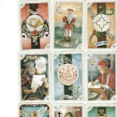 Barajas de cartas: BARAJA DE FILATELIA- LAS POSTAS -FOURNIER-AÑO 1996.-. Lote 50377730
