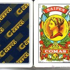 Barajas de cartas: TRANSPORTES GEFCO - BARAJA ESPAÑOLA DE 40 CARTAS. Lote 45256530