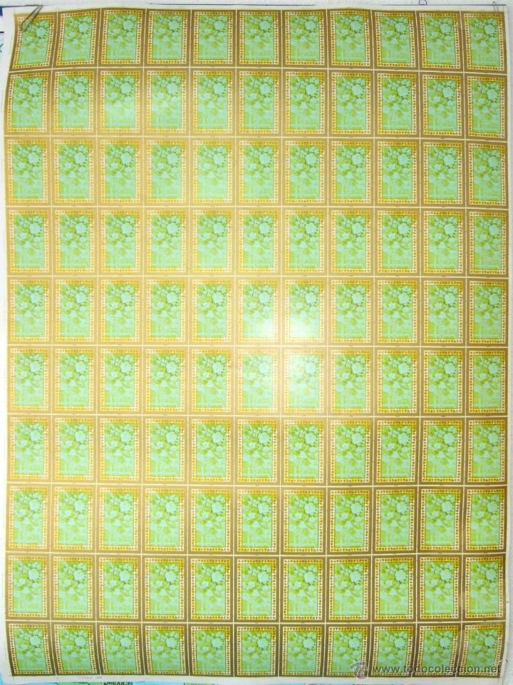 Barajas de cartas: PLIEGO CON 2 BARAJAS COMPLETAS DE POKER - BRIDGE * TIFFANY & CO. New York * 68 x 94 cm. PIEZA RARA! - Foto 7 - 45267704