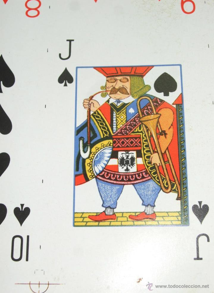 Barajas de cartas: PLIEGO CON 2 BARAJAS COMPLETAS DE POKER - BRIDGE * TIFFANY & CO. New York * 68 x 94 cm. PIEZA RARA! - Foto 12 - 45267704